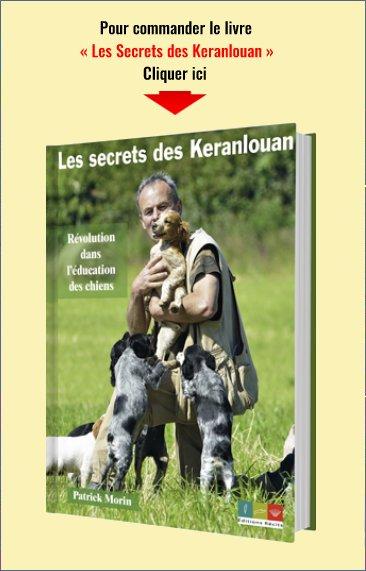 Livre de Patrick Morin Les Secrets des Keranlouan